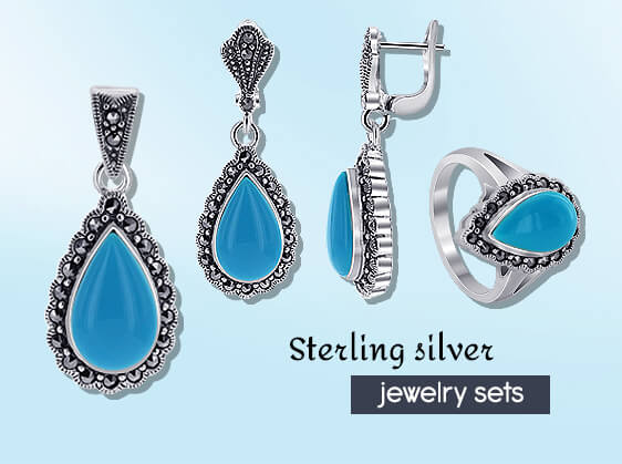 Sterling Silver Jewelry-set